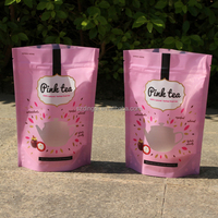 Custom product bags for tetra color sand package