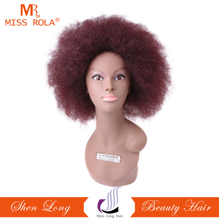 Fashion Hairstyle Cheap Synthetic Wigs Short Hair For Africans Black Women