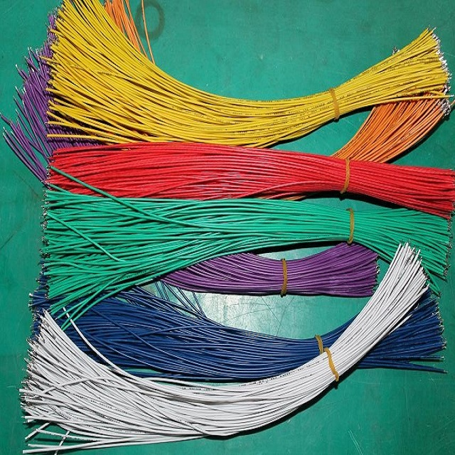 Customised Multi-color Cuted & Stripped & Tinned Cable Pre-made Wire ...