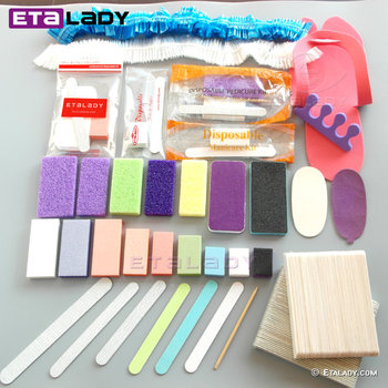 Disposable Nail Salon Supplies Professional Nails Kit Supplies