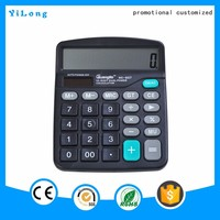 2016 high quality 12 digit 112 steps check and correct function colorful electronic calculator