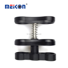 Anti corrosion Aluminum Alloy spring wings for diving torch Meikon underwater clamp