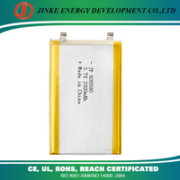 Li ion battery 3.7v 3300mah ,605590 3300mAh gum battery