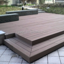 Wood Plastic Composite WPC Floor Decking Outdoor Garden Floor Pest-resistant Anti-UV