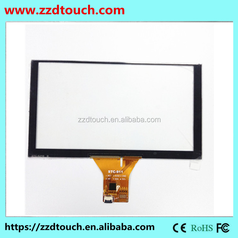 Stock 15.1 inch single touch 4 wire resistance screen with high precision touch screen General industrial products,used in GPS