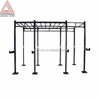(HERRMAN)Commercial gym Free standing Crossfit Racks/Monkey rigs