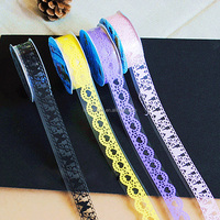 High Quality Printed Decor Fashion Sticker DIY Lace Adhesive Masking Tape