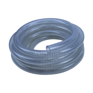 "Diameter 3/4"" 1"" 2""etc steel wire reinforced spring pvc hose pipe"