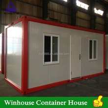 Living 20ft Container House Prefab House Container Low Price Modular Homes