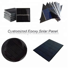 Epoxy/PET Customized Mini Solar Panels/Small Solar Cells For Led Light