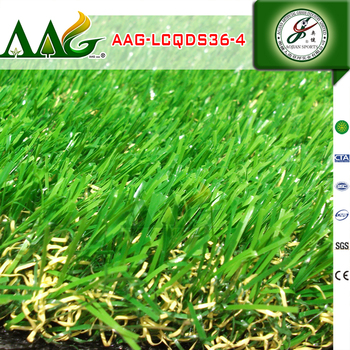 2017 high quality garden decorative artificial grass