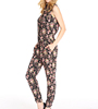 Guangzhou Factory Price Women Rayon Jumpsuit Pants Display