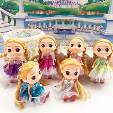2018 New Arrival Wholesale Doll Toys High Quality Comfused Mini Silicone Baby Angle Doll For Kids Gift