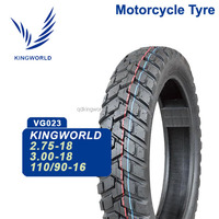 Best China Factory Tubeless Motorcycle Tire 110/90-16, Tubed Motorcycle Tyre 110 90-16