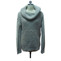 Hot Sales Knitted Turtleneck Women Sweater