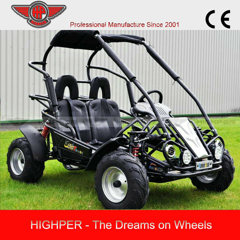 2014 6.5HP 196CC Middle size 2 Seat Gas Powered Go Kart for Kids