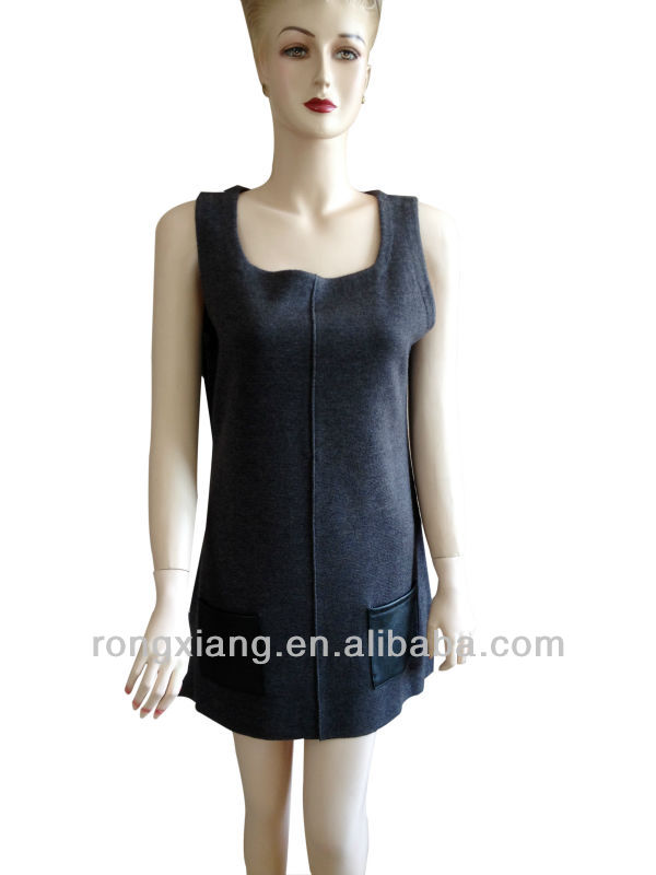 Sleeveless Cashmere dress