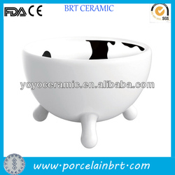 porcelain cute good wholesale novelty cartoon dog bowls