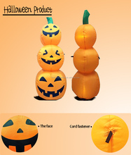 Halloween inflatable yard decorations cheap halloween outdoor airblown inflatables pumpkin for halloween