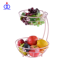 Kitchen Metal 2 tier Fruit Vegetable Storage Basket