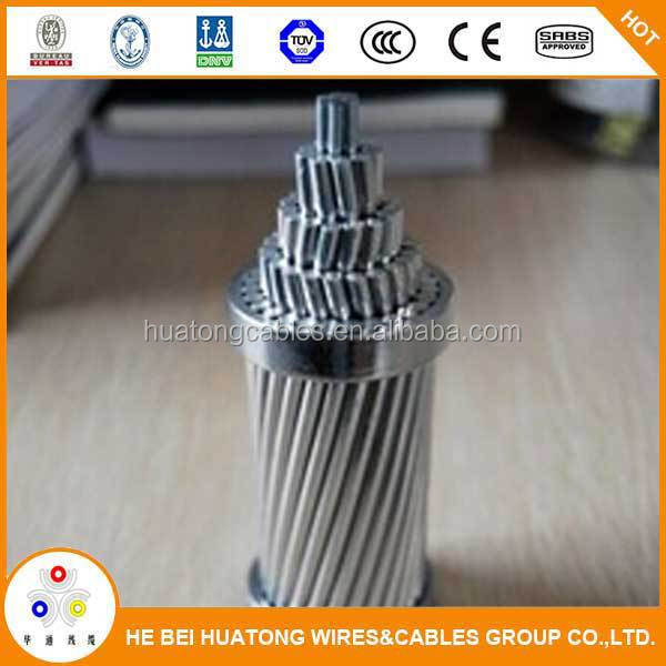 Bare conductor overhead line conductor ASTM standard ACSR Hawk/ACSR Conductor 477 MCM made in China