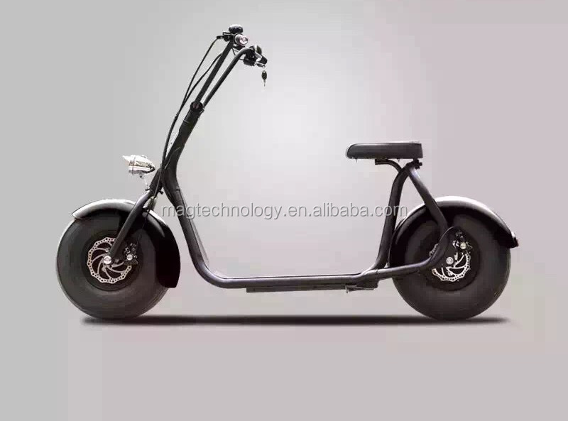 Double seat Citycoco Scrooser with LED light New model! China made electric bike/scooters/motorcycle/moped/bikes for adults
