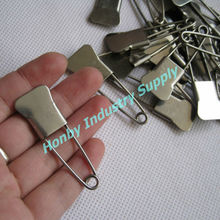 "New Arrival Fishtail 2"" Stainless Steel Laundry Safety Pins"