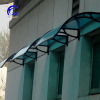european style plastic small window door canopy awning