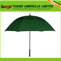 2015 abaya outdoor advertising plant green golf umbrella