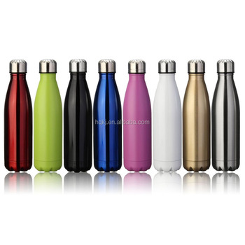 DS07 17oz Double Wall Vacuum Insulated Stainless Steel Water Bottle Perfect for Outdoor Sports Camping Hiking Cycling