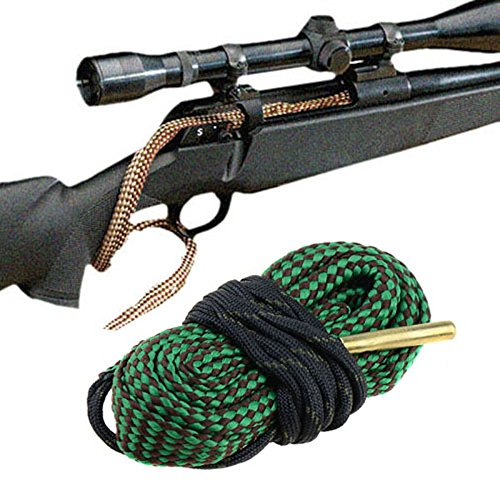 Bore Cleaning Rope AR Rifle handShotgun Carbine Pistol Bore Cleaner for 9mm 5.56mm .223 .22 .308 12Gauge Caliber