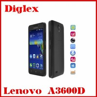 2015 new 4.5inch Lenovo A3600D MTK6582M+6290 Quad core 512MB RAM 4GB ROM Dual sim android 4.4 smartphone