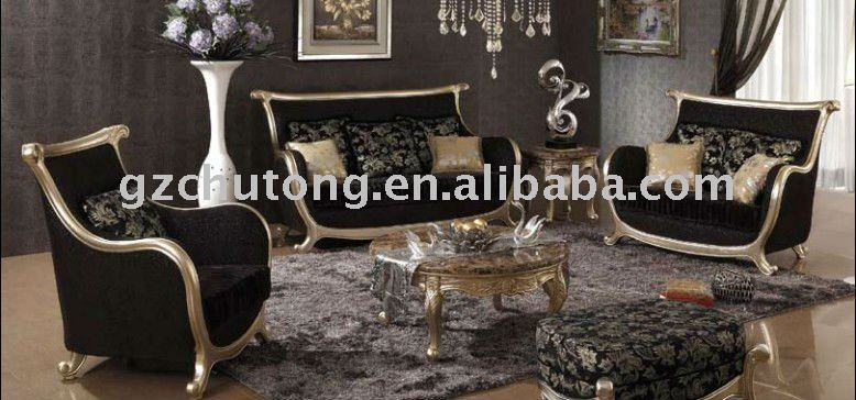 2013 new design Good fabric Europe Classical style Antique Sofa