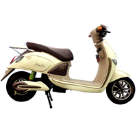 Reliable 2000W Disk Brake Electric Motorcycle With Pedals