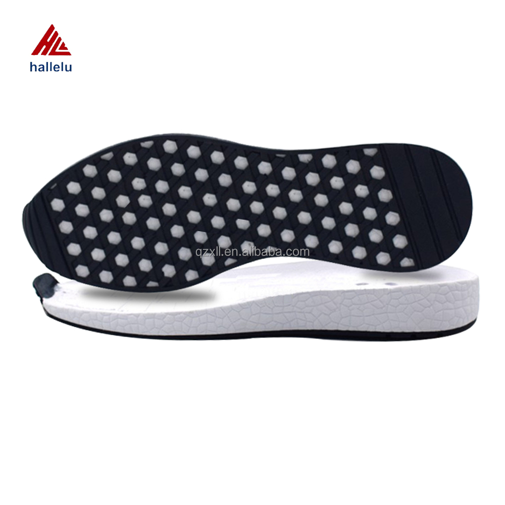 Hot Sale Full Size 35-46 Brand Sneaker EVA Shoes Soles For Men Women Trainers Shoes Outsole Rubebr EVA Shoe Sole