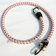 8mm polyester elastic rope with hook for bike