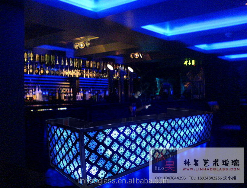 Marvelous Glass Bar Counter Designs, Home And Night Club Bar Counter, Led Bar Counter  For