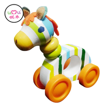 Cheap Horse Educational Wooden Toys for kids Animal Toys