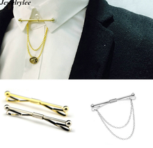 Cheap Price Clip Silver Tie Bar Mens Collar Pin With China Gold Tie Clip