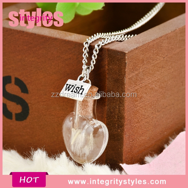 New Design Trendy <strong>Bulb</strong> Pendant Necklace