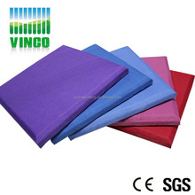 classroom wall acoustic fabric ceiling panel new type of modern decoration material
