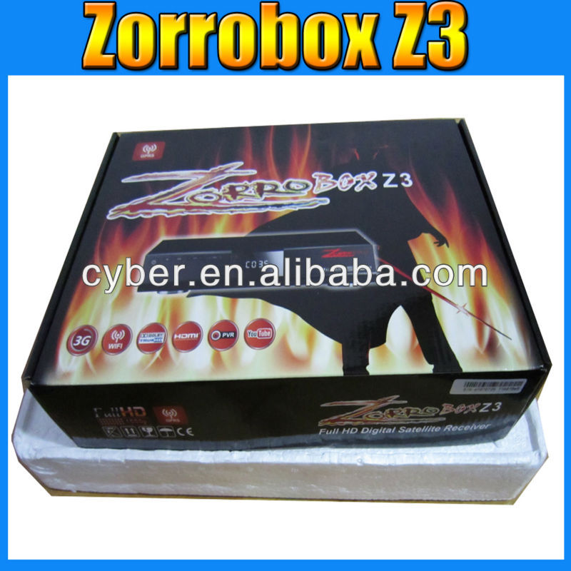 Pakistan gprs decoder zorrobox- Z3 gprs dongle satellite receiver for Central Asia zorrobox z3