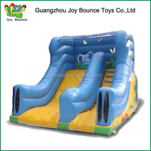 inflatable water slide used in amusement park for kids and adults