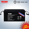 12V SLA rechargeable solar AGM deep cycle battery