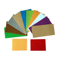 Colour 2mm polyester non-woven needle punched DIY craft felt