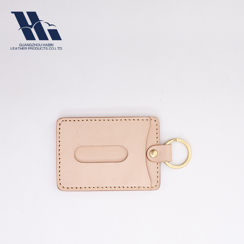 Wholesale Brand Embossed Faux Genuine leather Hang tag