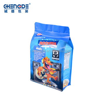Best Price High Quality square flat bottom plastic zipper bag