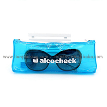 China Supplier Plastic Bag Packaging PVC Sunglasses Pouch Ziplock Bag