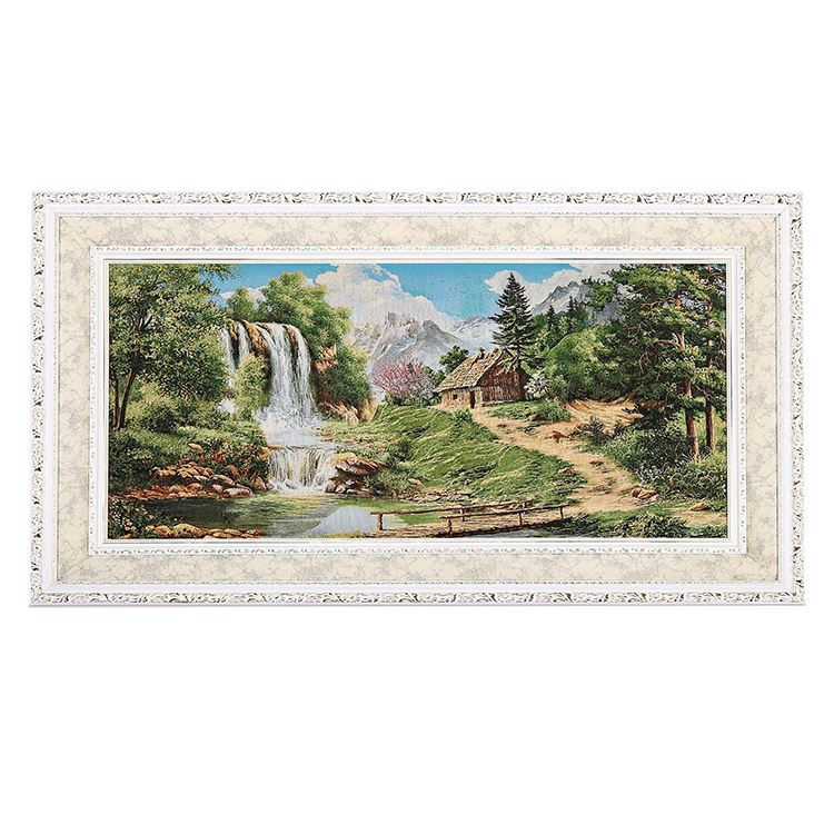 New arrival religion waterfalls scenery art canvas prints, photo frame painting