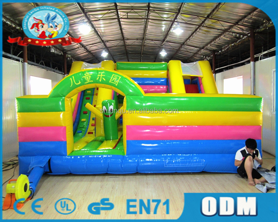 Lanqu inflatable bouncers for adults jolly jumper adult